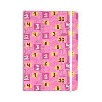 "Jane Smith ""Vintage Playground II"" Pink Yellow Everything Notebook"