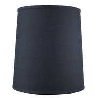 0-003815>Drum Shade 12x14x15 Textured Slate