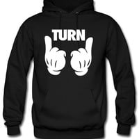 Turn Up Hands Hoodie