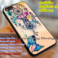 Cutie and Dream Catcher Lilo and Stitch iPhone 6s 6 6s+ 6plus Cases Samsung Galaxy s5 s6 Edge+ NOTE 5 4 3 #cartoon #animated #disney #Lilo&Stitch dl3