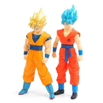 Hot Sale Action Figures Toys Dolls Dragon ball Z Super Saiyan Goku Vegeta Japan Anime Cartoon Toys Models Desk Toys Cute Dolls