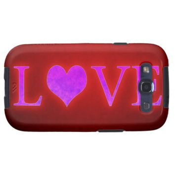 Love Galaxy S3 Cover