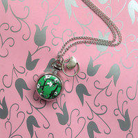 Call it Spring pocket watch necklace in Silver