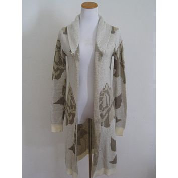 Press Open Cardigan Duster S/P