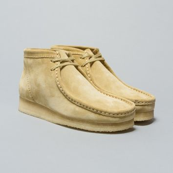 Clarks Originals Wallabee Boot (Maple Suede) | Oi Polloi
