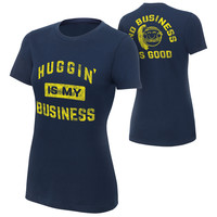 """Bayley """"Huggin' is My Business"""" Women's Special Edition T-Shirt"""