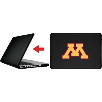 """University of Minnesota - Yellow M design on MacBook Pro 13"""" with Retina Display Customizable Personalized Case by iPearl"""