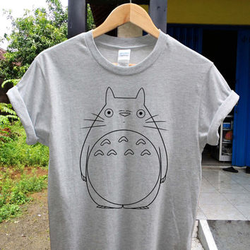 Totoro drawing body t shirt Totoro shirt , game shirt, potograph printed style shirt, digital shirt unisex adult