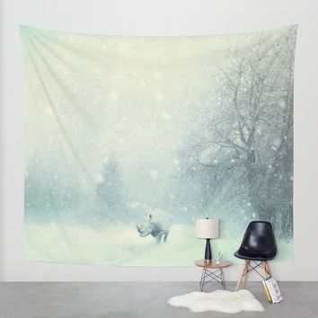 Different dont mean weak Wall Tapestry by HappyMelvin | Society6