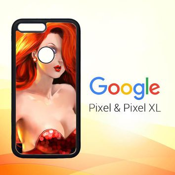 jessica rabbit Z1527 Google Pixel Case
