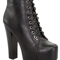 Cila Booties-Black