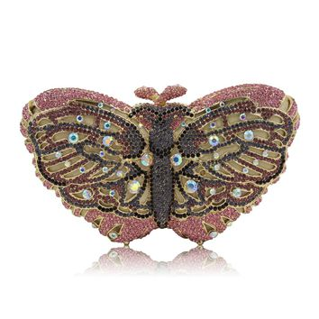 Butterfly Shape Evening Clutch