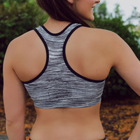 Leader of the Pack Sports Bra - Black