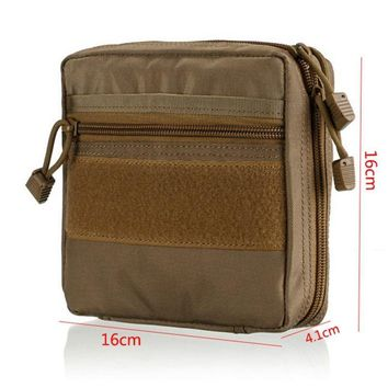 Tactical MOLLE EDC Pouch Utility Gadget Pouch - EMT Medical First Aid Pouch Kit Survival Gear Bag