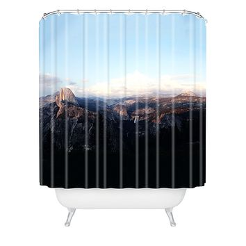 Leah Flores Yosemite Shower Curtain