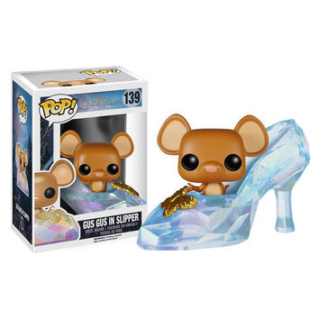 Disney Cinderella Live Action Gus Gus Slipper Pop! Figure