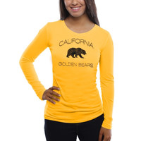 Cal Bears Women's Fade To Victory Long Sleeve T-Shirt – Gold