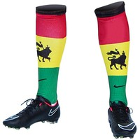 Rasta Flag Soccer Socks