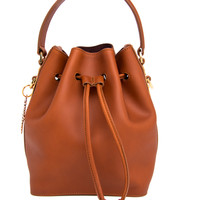 Sophie Hulme Tan Fleetwood S19 Bucket Bag