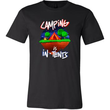 Cool Funny Campers Camping In-Tents Tee Shirt