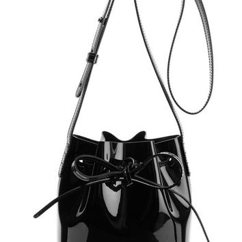 Mansur Gavriel - Mini Mini patent-leather bucket bag