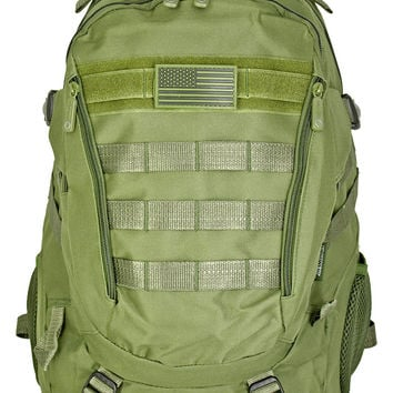 Athletic Backpack - Olive Green