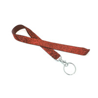 Red Sparkle Lanyard