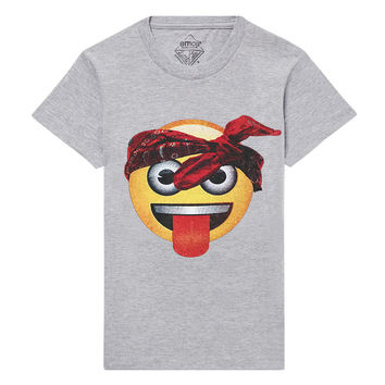 URBAN Emoji Graphic T-Shirt