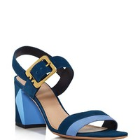 Tory BurchPalermo Color Block Ankle Strap Sandals