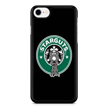 Funny Starbucks Logo Parody iPhone 8 Case