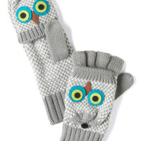 Branch Hands Convertible Gloves in Grey | Mod Retro Vintage Gloves | ModCloth.com