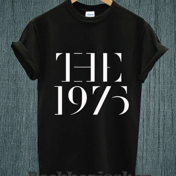 Hot - The 1975 Band Music Tour 2014 Logo Tee Shirt Black and White Unisex Size - Part 2