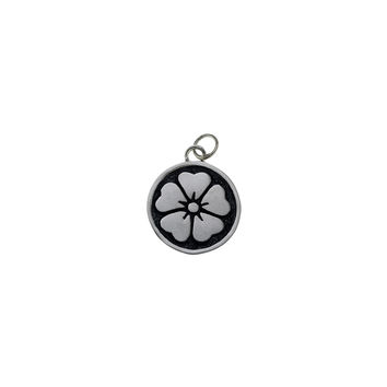 Ceremonial Kamon Sterling Silver April Cherry Blossom Charm