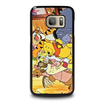 WINNIE THE POOH AND FRIENDS Disney Samsung Galaxy S7 Case Cover