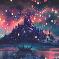 The Lights Stretched Canvas by Alice X. Zhang