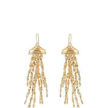 Theia gold-plated earrings | Aurélie Bidermann | MATCHESFASHION.COM UK
