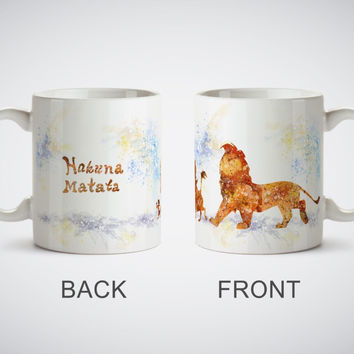 The Lion King Simba Hakuna Matata Mug