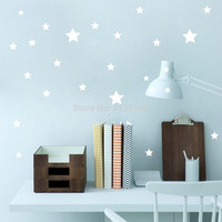 Removable Various Color Stars Decorative Wall Stickers Vinyl Wall Art Decals for Kids Rooms Home Decor