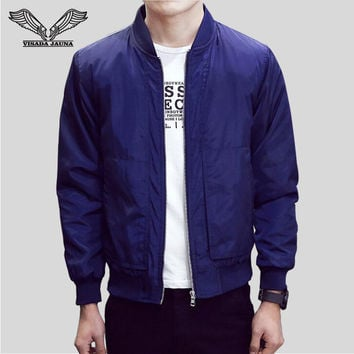 2017 A class Men's Jacket New Arrivals Spring and Autumn Fashion
