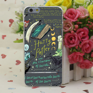 Harry Potter and the Chamber of Secrets Sticker Case Cover for iPhone 4 4S 5 5S SE 5c 6 6s 7 7 Plus