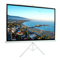 "FAVI 106"" Tripod Projector Screen - 16:9 (TRI-HD-106)"