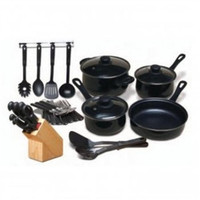 32-Piece Kitchen Cookware Cutlery Flatware Set