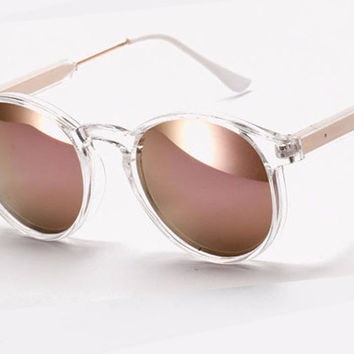Strong Round Sunglasses
