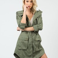 Military Anorak Jacket
