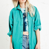 Vintage Renewal Flannel Shirt in Green - Urban Outfitters