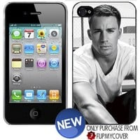 CHANNING TATUM B&W iPhone 4 4s Plastic Hard Phone Cover Case