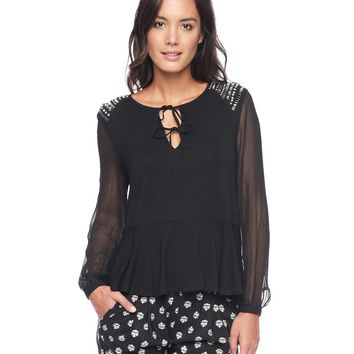 Bohemian Embellished Top by Juicy Couture