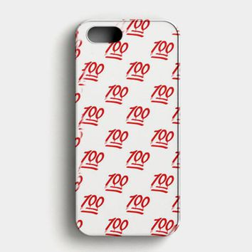Keep It One Hunnit 100 Emoji iPhone SE Case