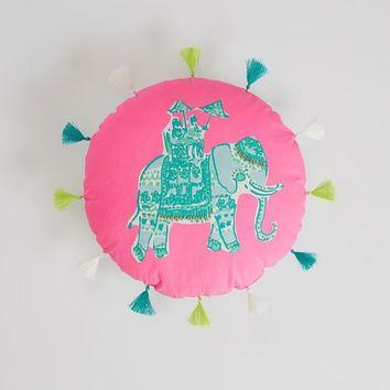 Lilly Pulitzer Elephant Bazaar Pillow