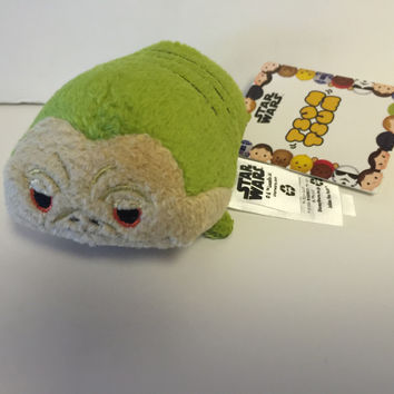 disney usa authentic star wars jabba tsum mini plush new with tags